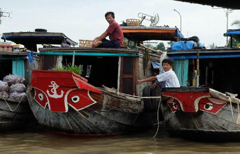 Delta del Mokong - Vietnam - 2015