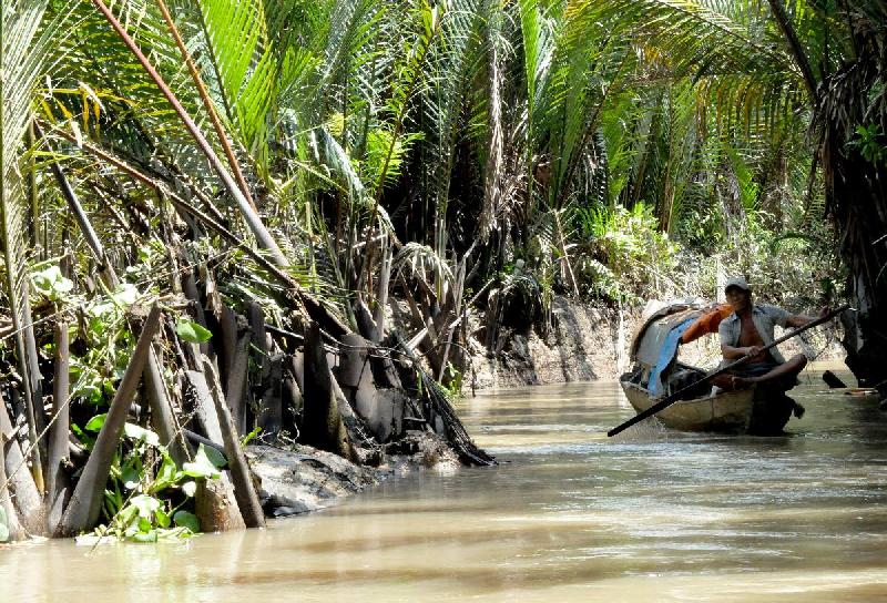 Delta del Mekong - Vietnam - 2015