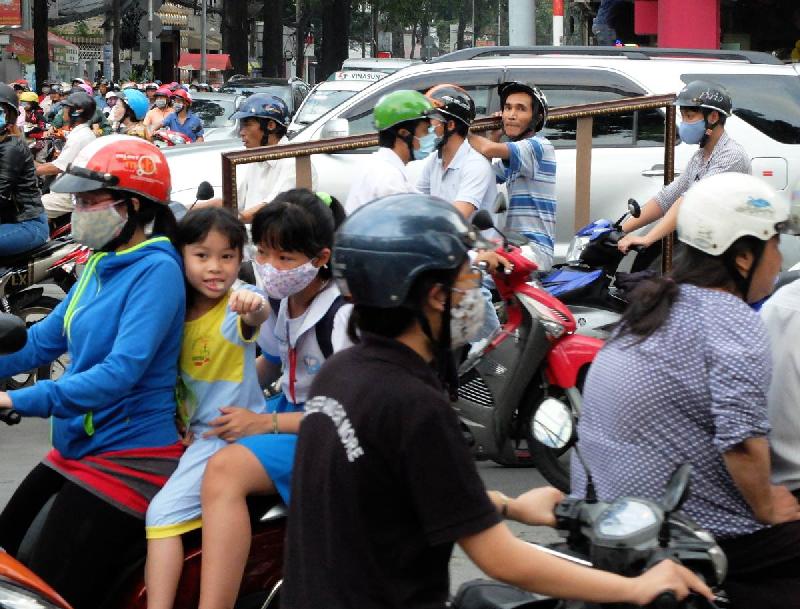 Ho Chi Minh City - Vietnam - 2015